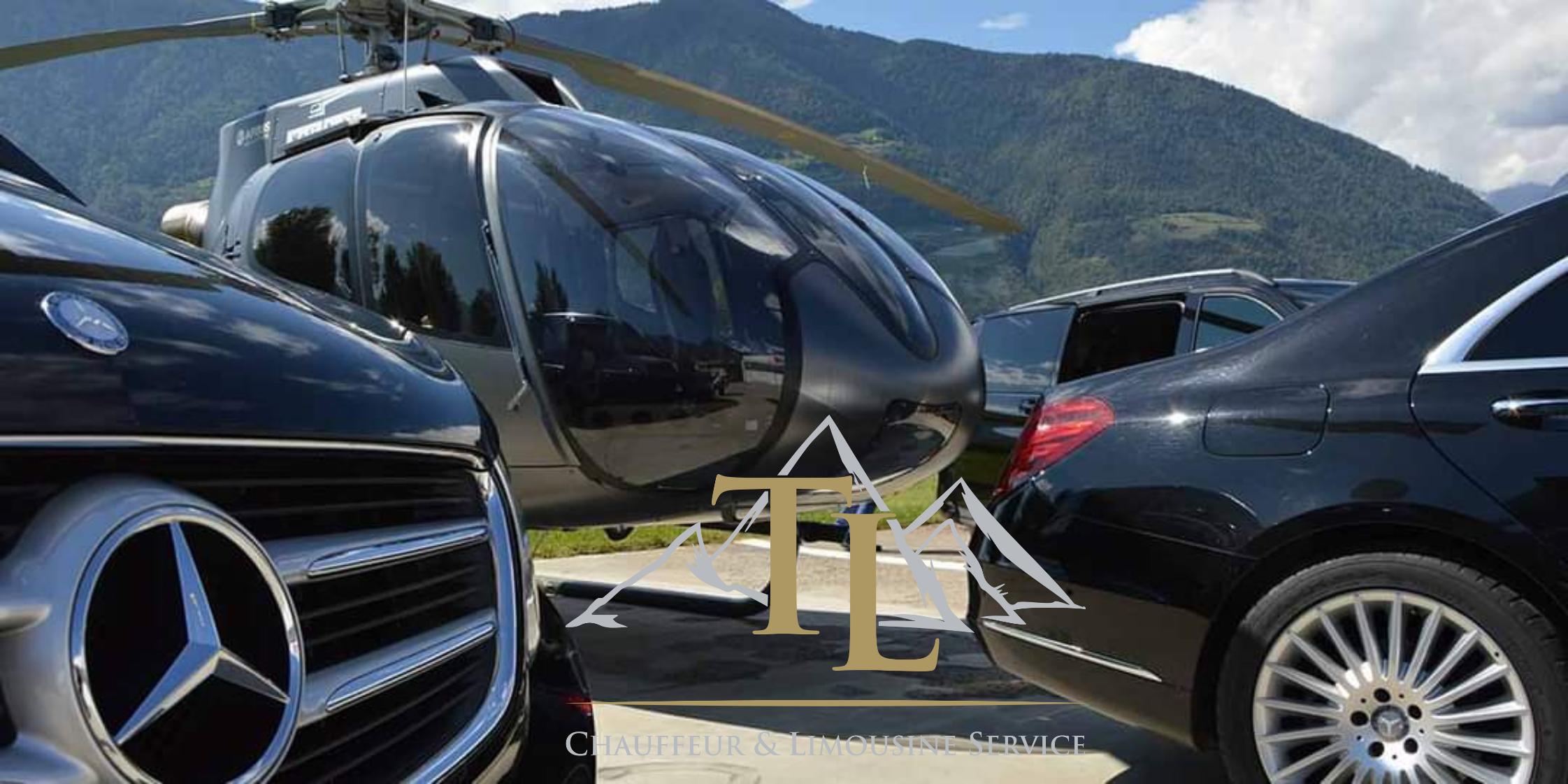 Limousine oder Hubschrauber!